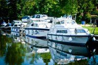 Willow Marina - backwater west bank