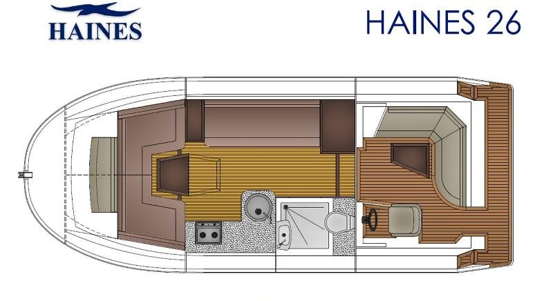 Haines 26 layout